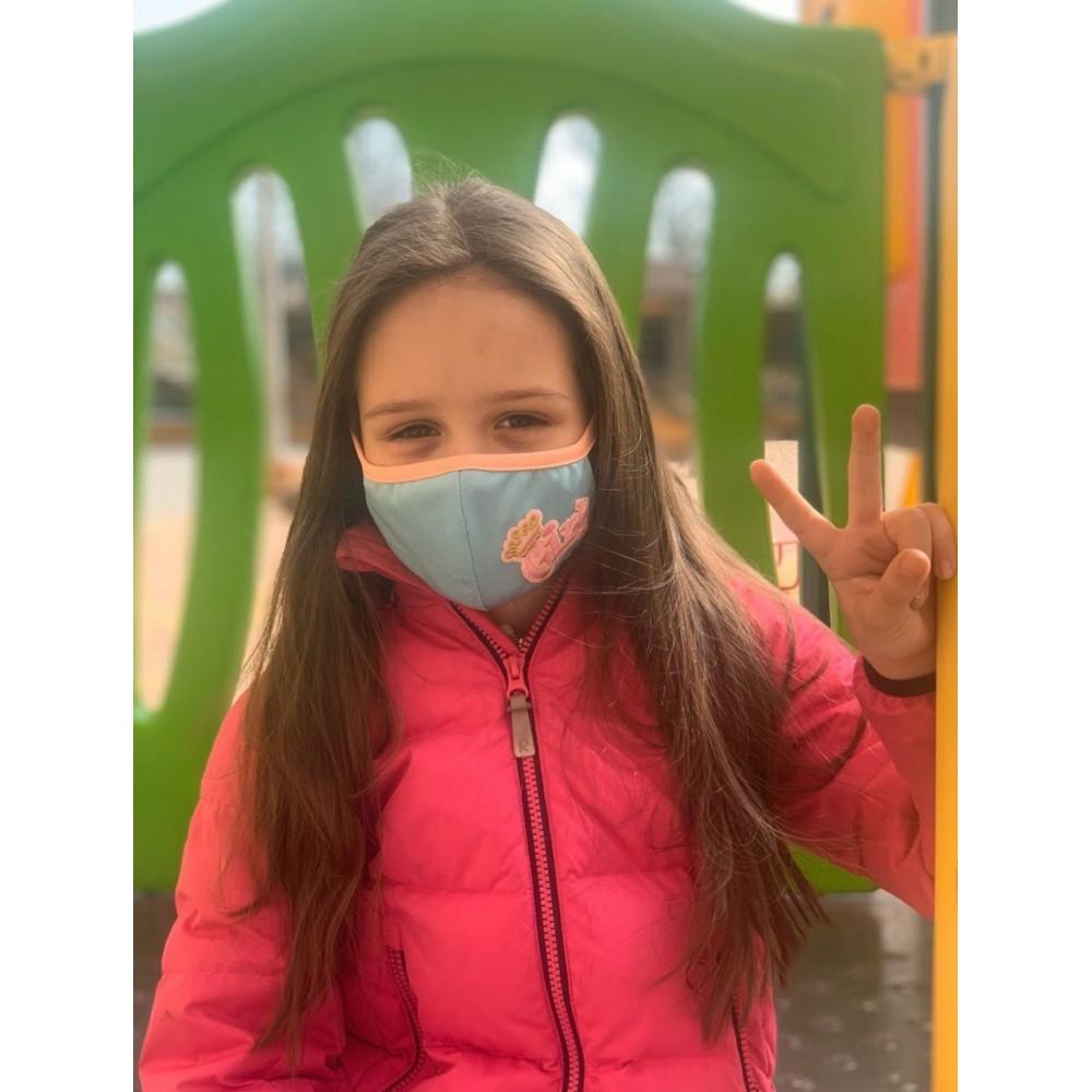 Маска для БДСМ - Маска защитная детская с принтом