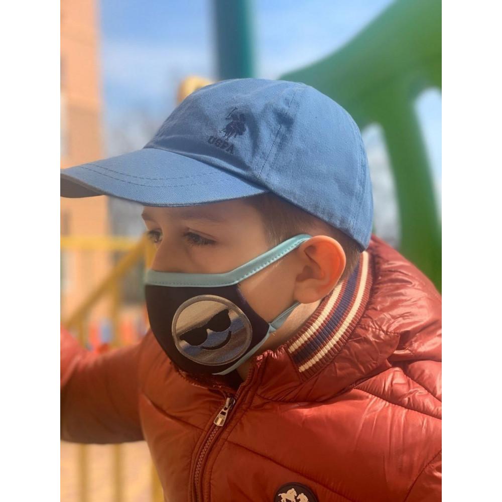 Маска для БДСМ - Маска защитная детская с принтом 3