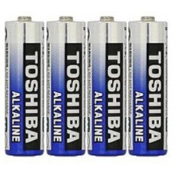 Батарейка щелочная TOSHIBA Alkaline LR3 AAA ( 4 шт )