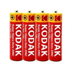Батарейка солевая Kodak Super Heavy Duty R6 AA ( 4 шт )