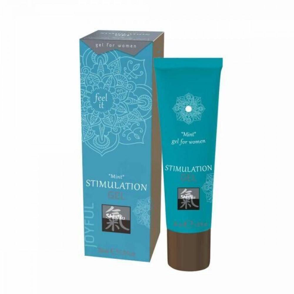Стимулирующие средства и пролонгаторы - Гель для интимной стимуляции Shiatsu Мята ( 30 ml )