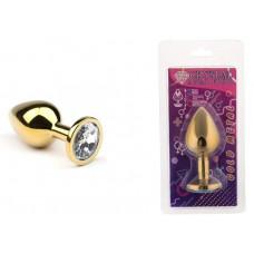 Анальная пробка, Gold Diamond, M