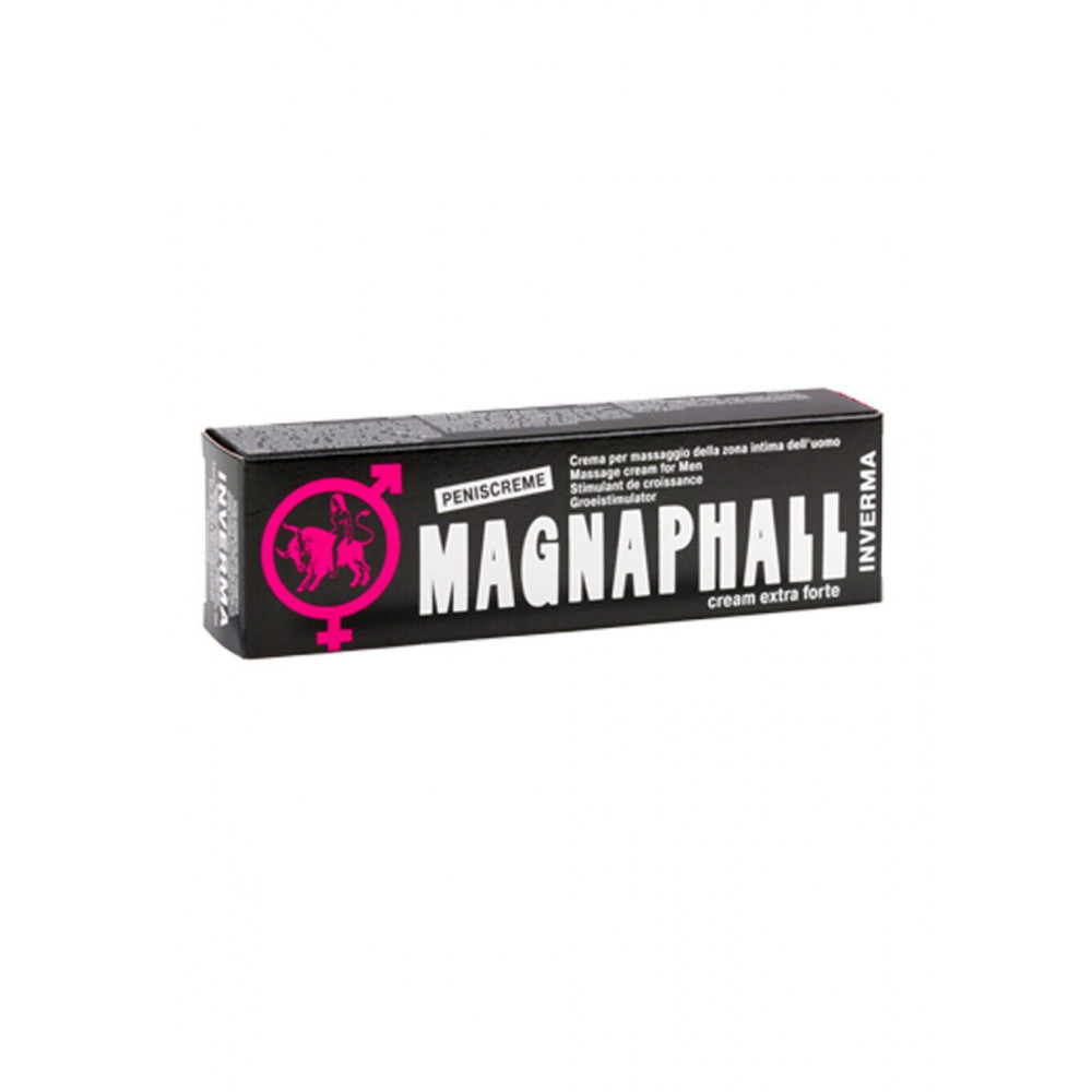 Стимулирующие средства и пролонгаторы - Возбуждающий крем Peniscreme Magnaphall, 45 ml