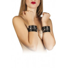 Наручники Leather Restraints Hand Cuffs, black