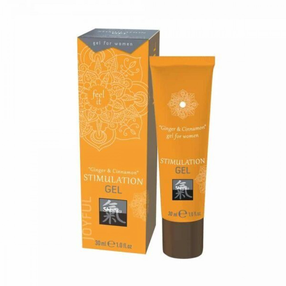 Стимулирующие средства и пролонгаторы - Гель для интимной стимуляции Shiatsu Имбирь и Корица ( 30 ml )