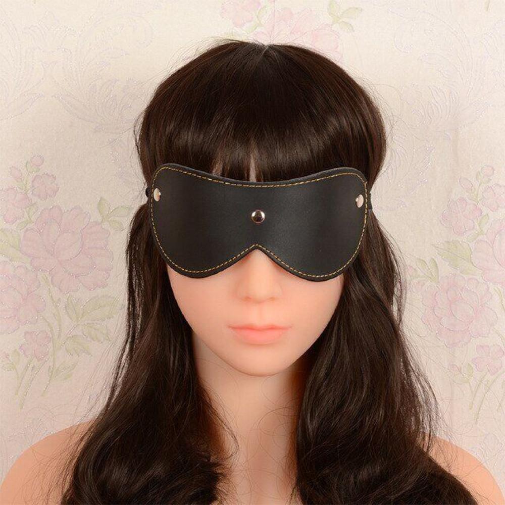 Маска для БДСМ - Закрытая маска Classic SKN-C028 , BLACK