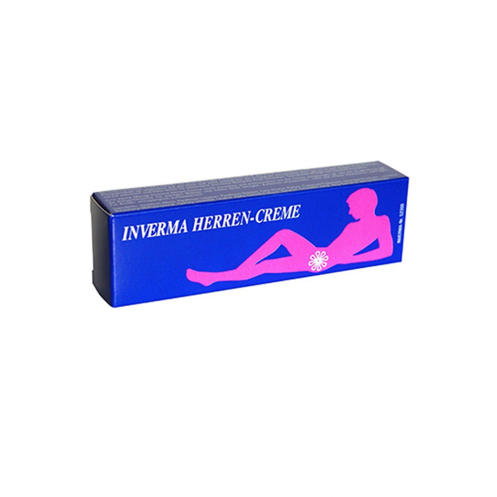 Стимулирующие средства и пролонгаторы - Возбуждающий крем Inverma Herren Creme, 20 ml