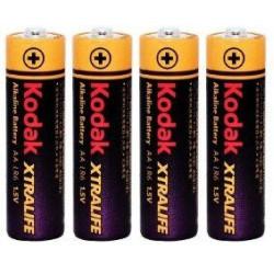 Батарейка щелочная Kodak XTRALIFE Alkaline LR6 AA ( 4 шт )