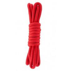 Веревка для бондажа BONDAGE ROPE 3M RED ( 3 метра )