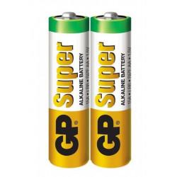 Батарейка щелочная GP Super Alkaline LR6 AA ( 2 шт )