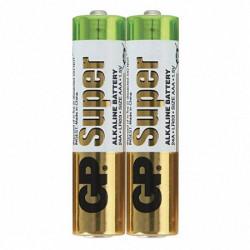 Батарейка щелочная GP Super Alkaline LR03 AAA ( 2 шт )