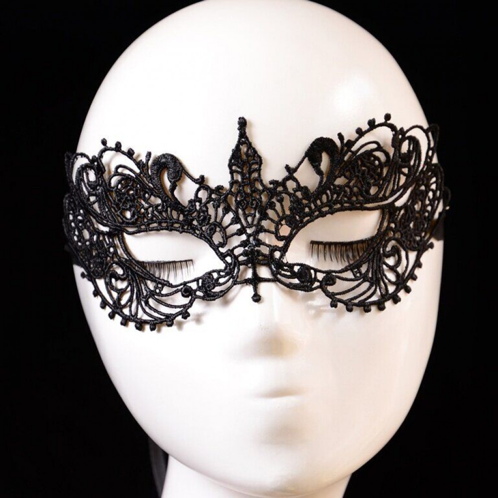Маска для БДСМ - Ажурная венецианская маска, SKN-C008 3