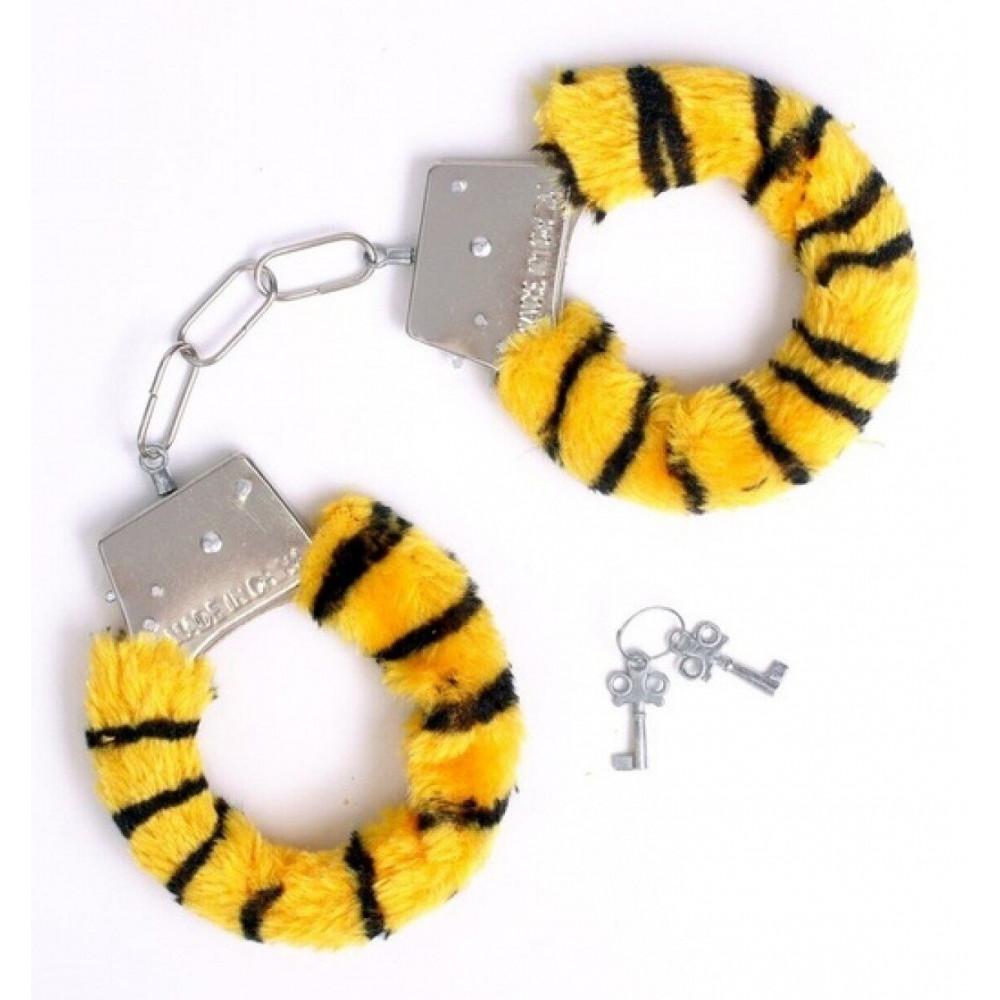 БДСМ наручники - Наручники SKN Handcuffs Tiger, BK30 Tiger