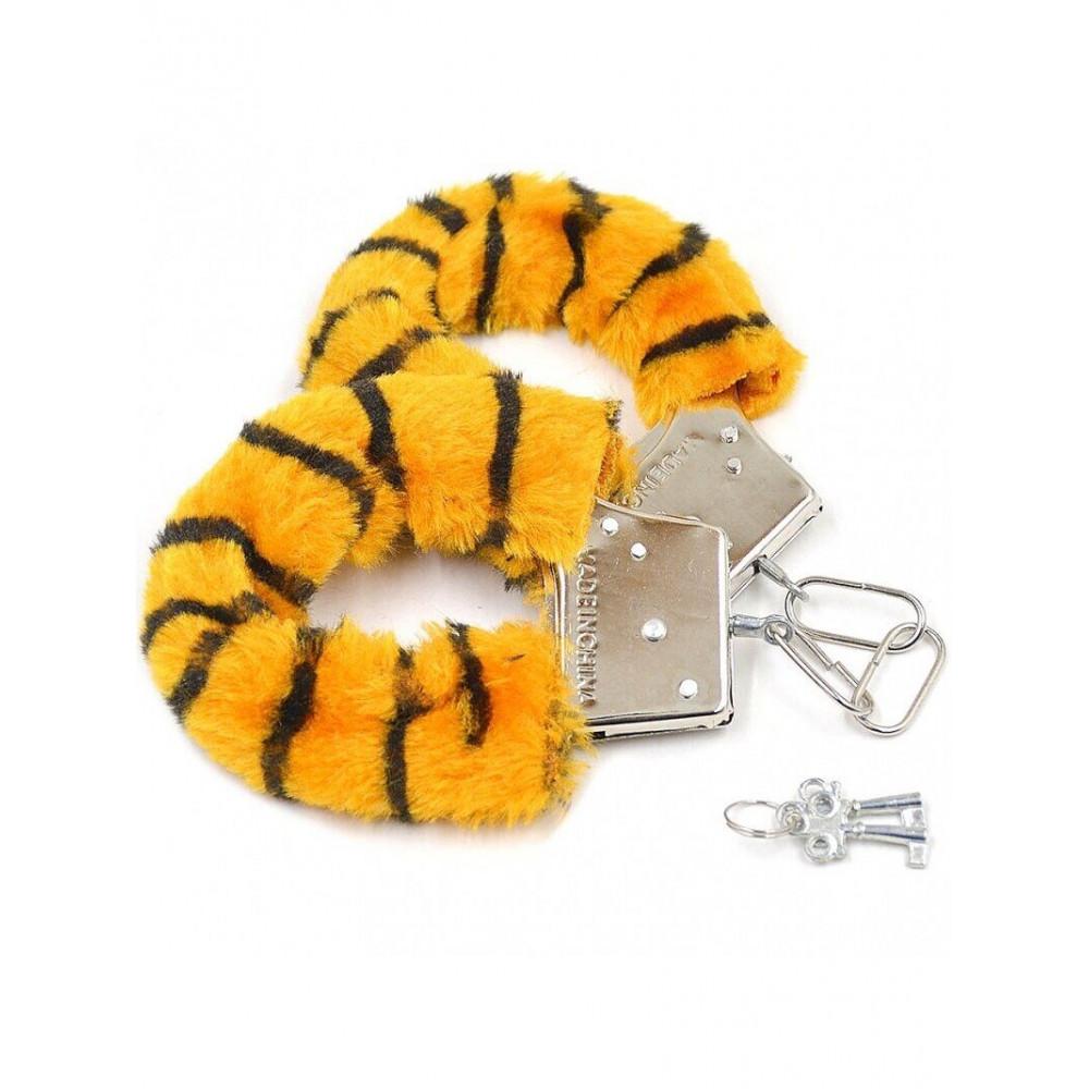 БДСМ наручники - Наручники SKN Handcuffs Tiger, BK30 Tiger 2