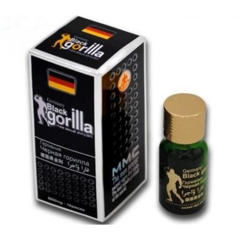 Мужские возбудители - Таблетки возбуждающие Germany Black gorilla 2