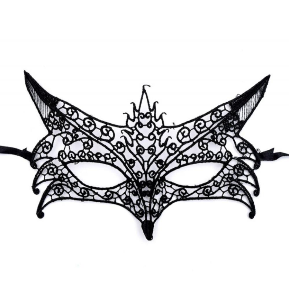 Маска для БДСМ - Ажурная венецианская маска, SKN-C006 3