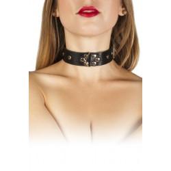 Ошейник Leather Restraints Collar, black