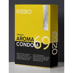 "Ароматизированные презервативы EGZO ""Aroma""№3"