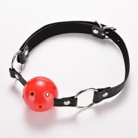 Кляп шар Plastic RED, SKN-KK01