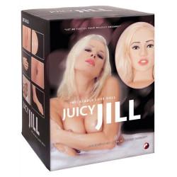 Надувная кукла с реалистичным личиком Juicy Jill, 511919