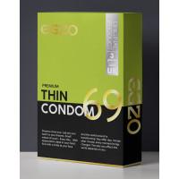 """Тонкие презервативы EGZO """"Thin"""" №3"""