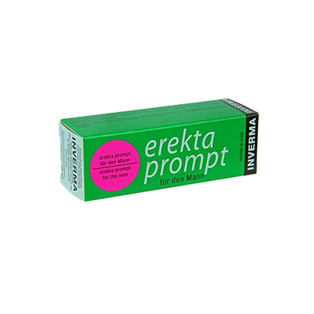Стимулирующие средства и пролонгаторы - Возбуждающий крем Erekta prompt für den Mann, 13 ml
