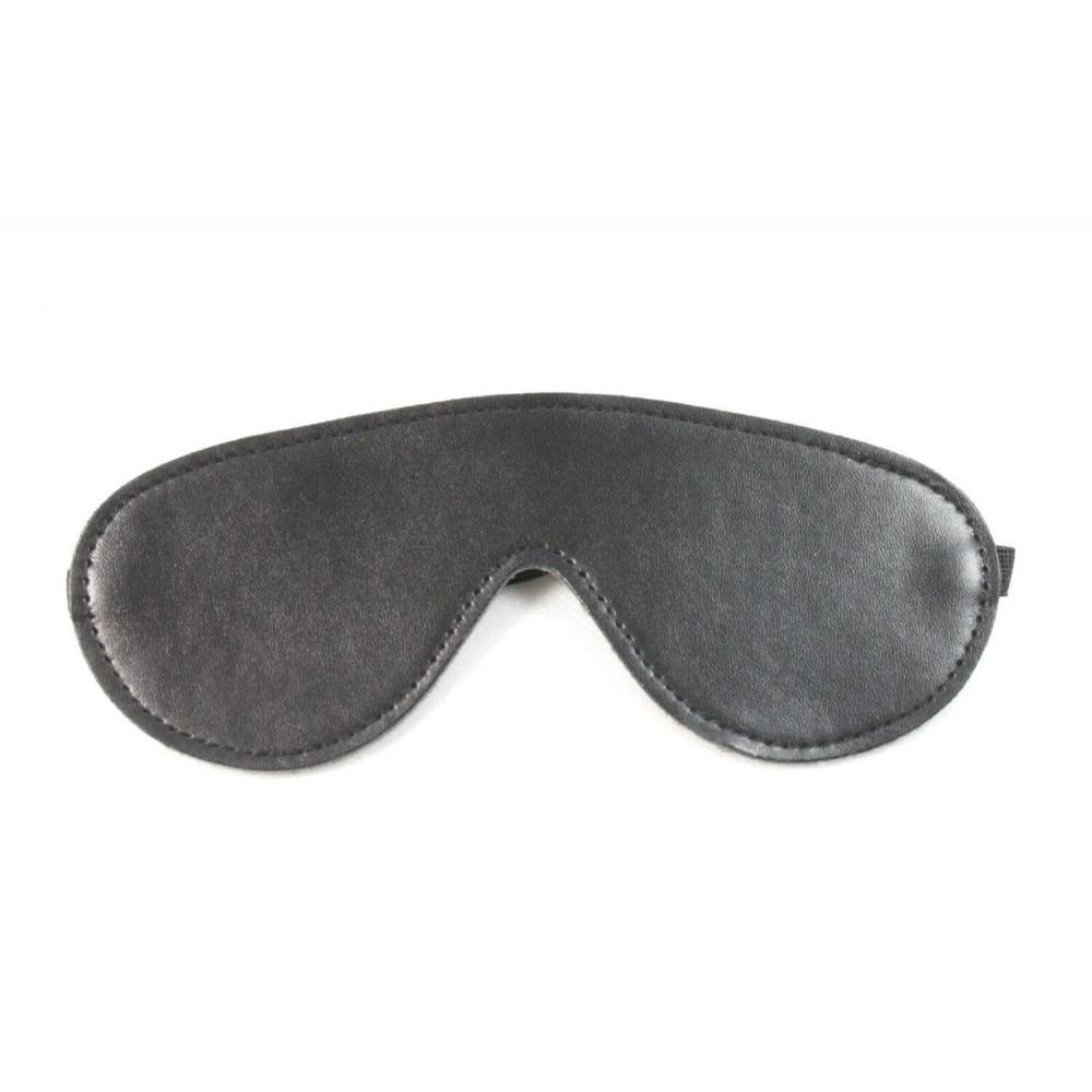 Маска для БДСМ - Закрытая маска Classic SKN-C037 , BLACK