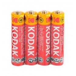 Батарейка солевая Kodak Super Heavy Duty R3 AAA ( 4 шт )
