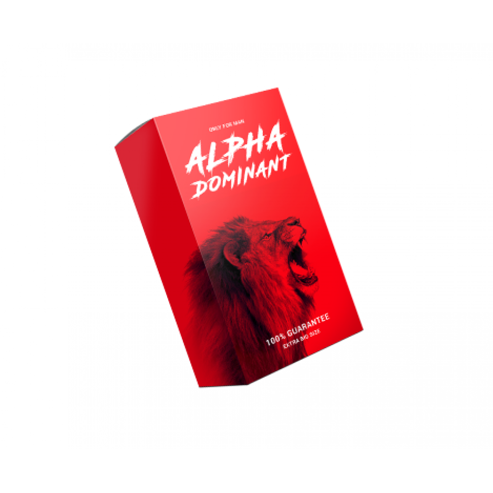 """Мужские возбудители - Крем для увеличения пениса """" Alpha dominant """""""