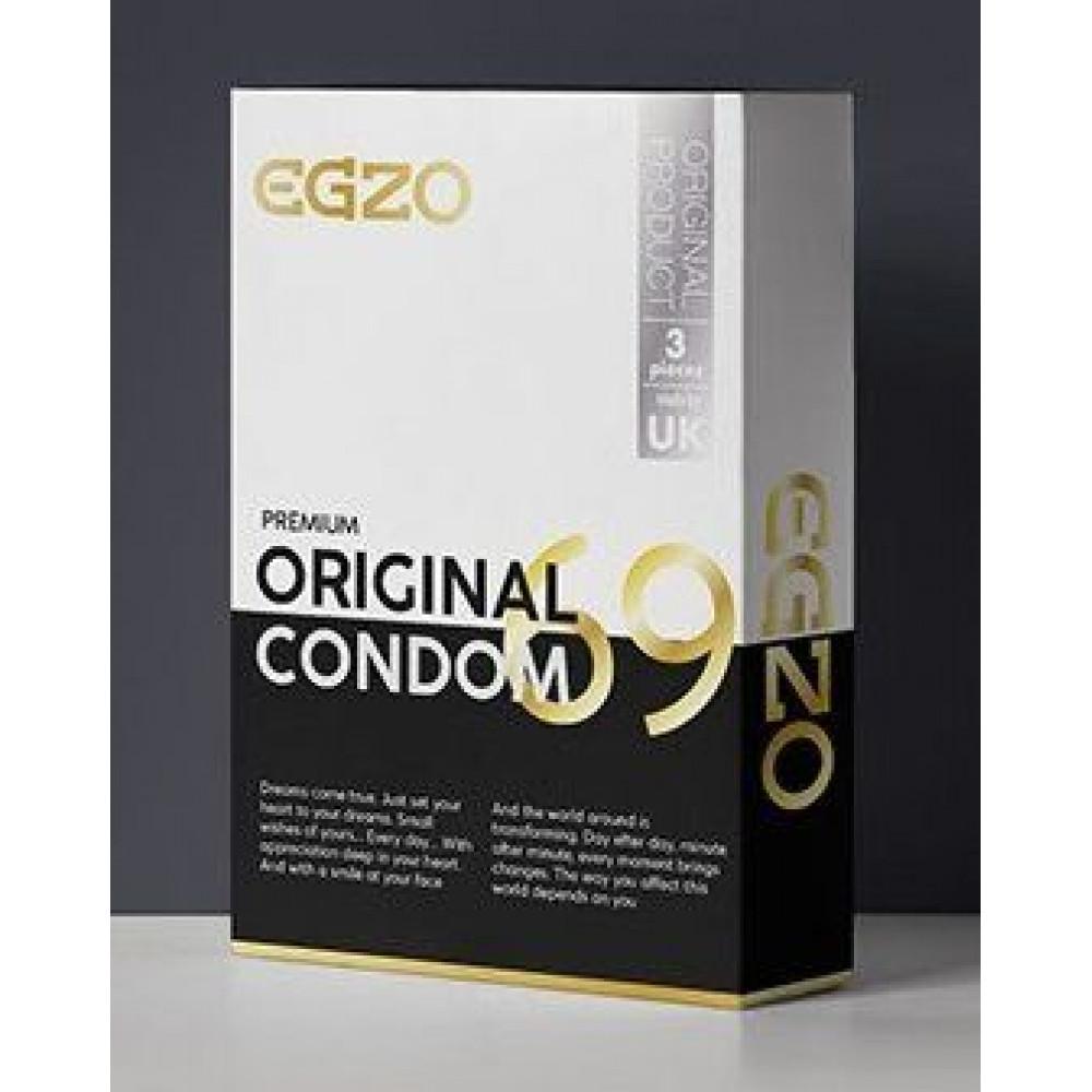 """Презервативы - Анатомические презервативы EGZO """"Original"""" №3"""