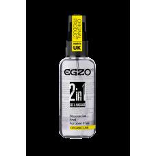 """Анальный силиконовый органический лубрикант EGZO """"HEY 2in1"""", 50 ml"""