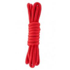 Веревка для бондажа BONDAGE ROPE 5M RED ( 5 метров )