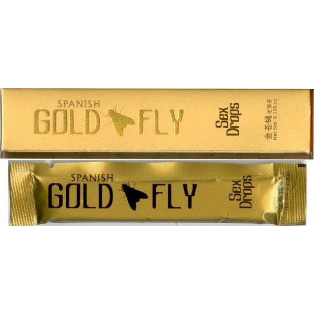 """Возбуждающие капли - Возбуждающие капли """"Gold Fly"""""""