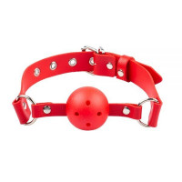 Кляп Breathable ball gag plastic, RED