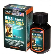 """""""Black Gold"""" (Черное золото) - таблетки для повышения потенции (16 шт)"""
