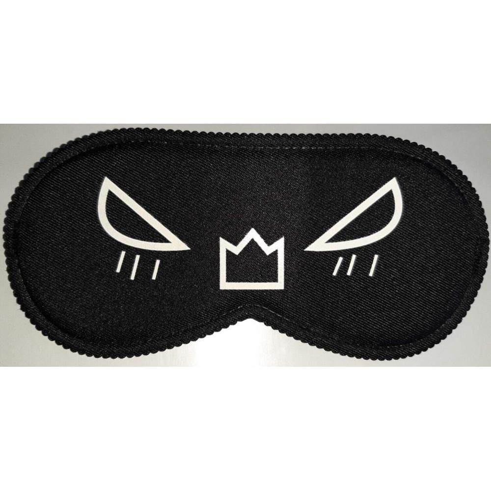 Маска для БДСМ - Закрытая маска на глаза Smile BLACK, SKN-C075 2