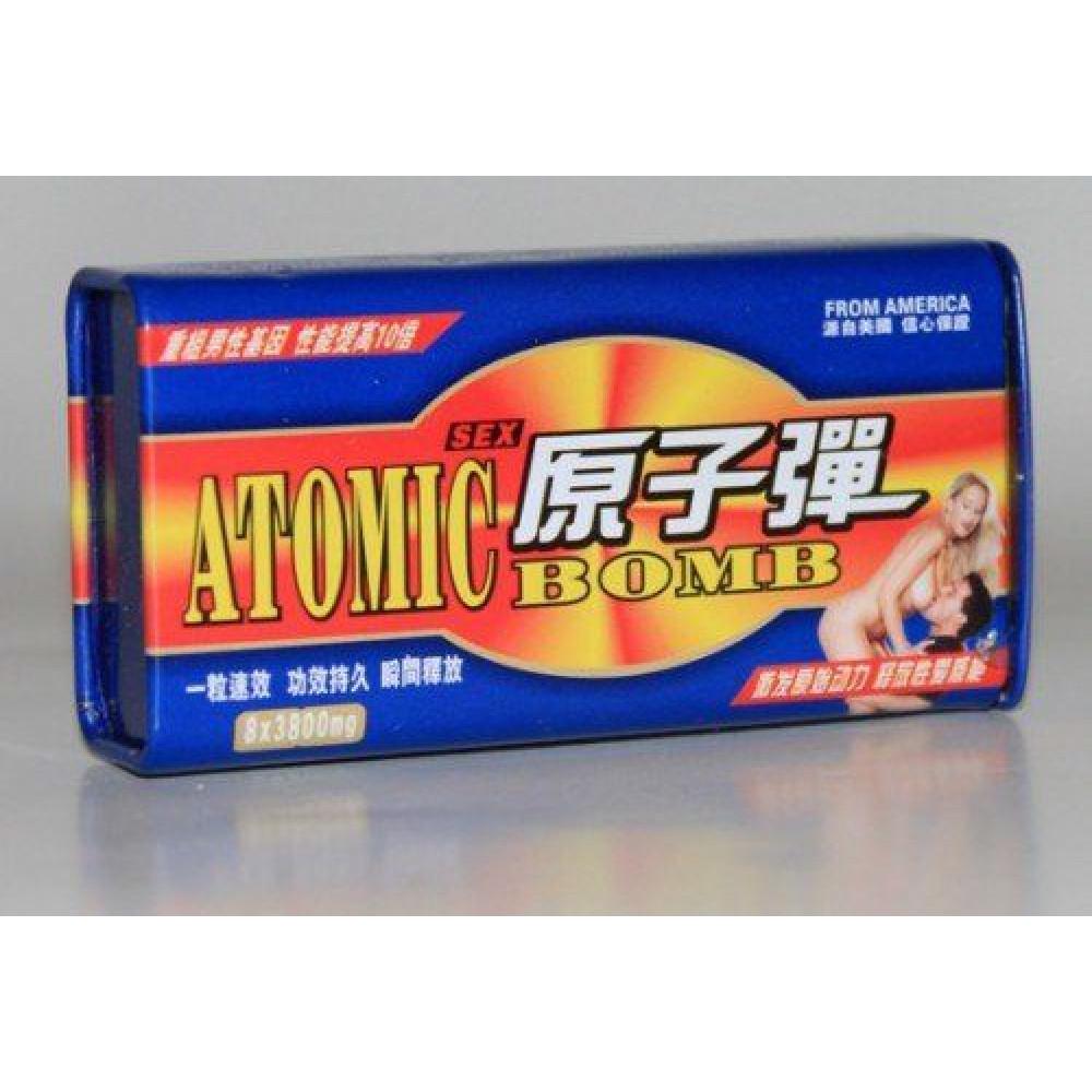 Мужские возбудители - Возбуждающие таблетки ATOMIC BOMB ( Атомная бомба )
