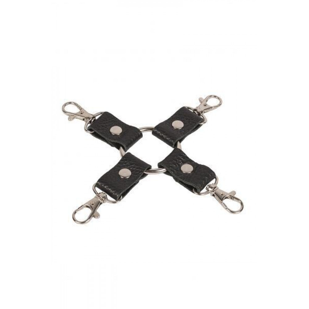 БДСМ аксессуары - Фиксатор Leather Fixer, black