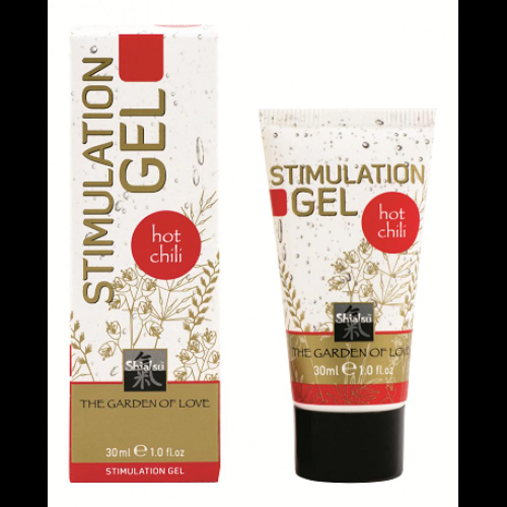Стимулирующие средства и пролонгаторы - Возбуждающий гель для интимной стимуляции SHIATSU '' Hot chili '' ( 30 ml )