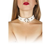 Ошейник Dominant Collar, white