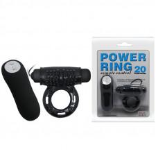"""Вибро кольцо """" Power ring 20 """" BI-014331"""