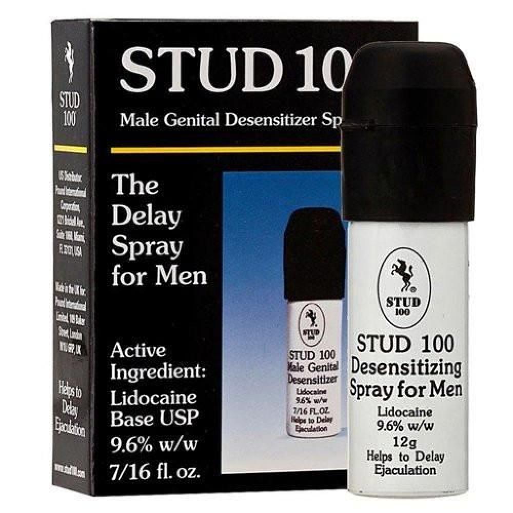 Мужские возбудители - Спрей-пролонгатор Stud 100, произведено для USA