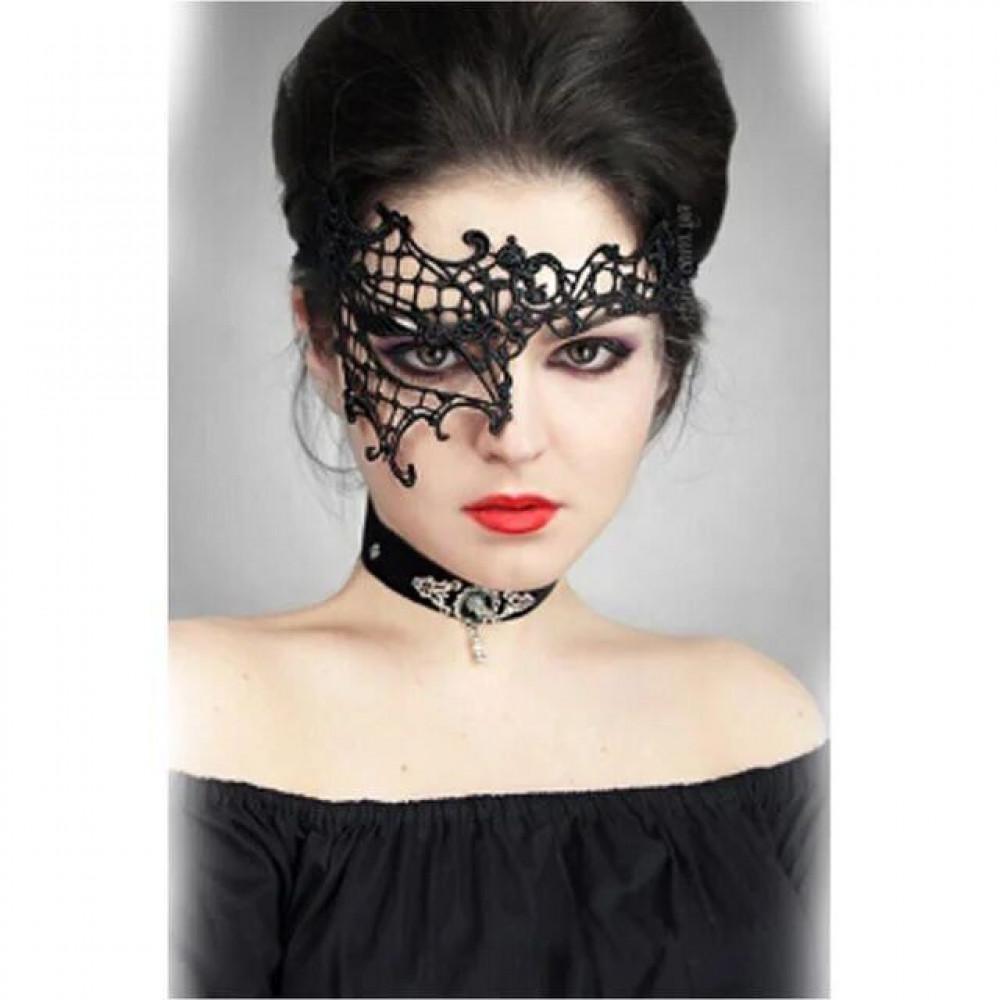 Маска для БДСМ - Ажурная венецианская маска, SKN-C012