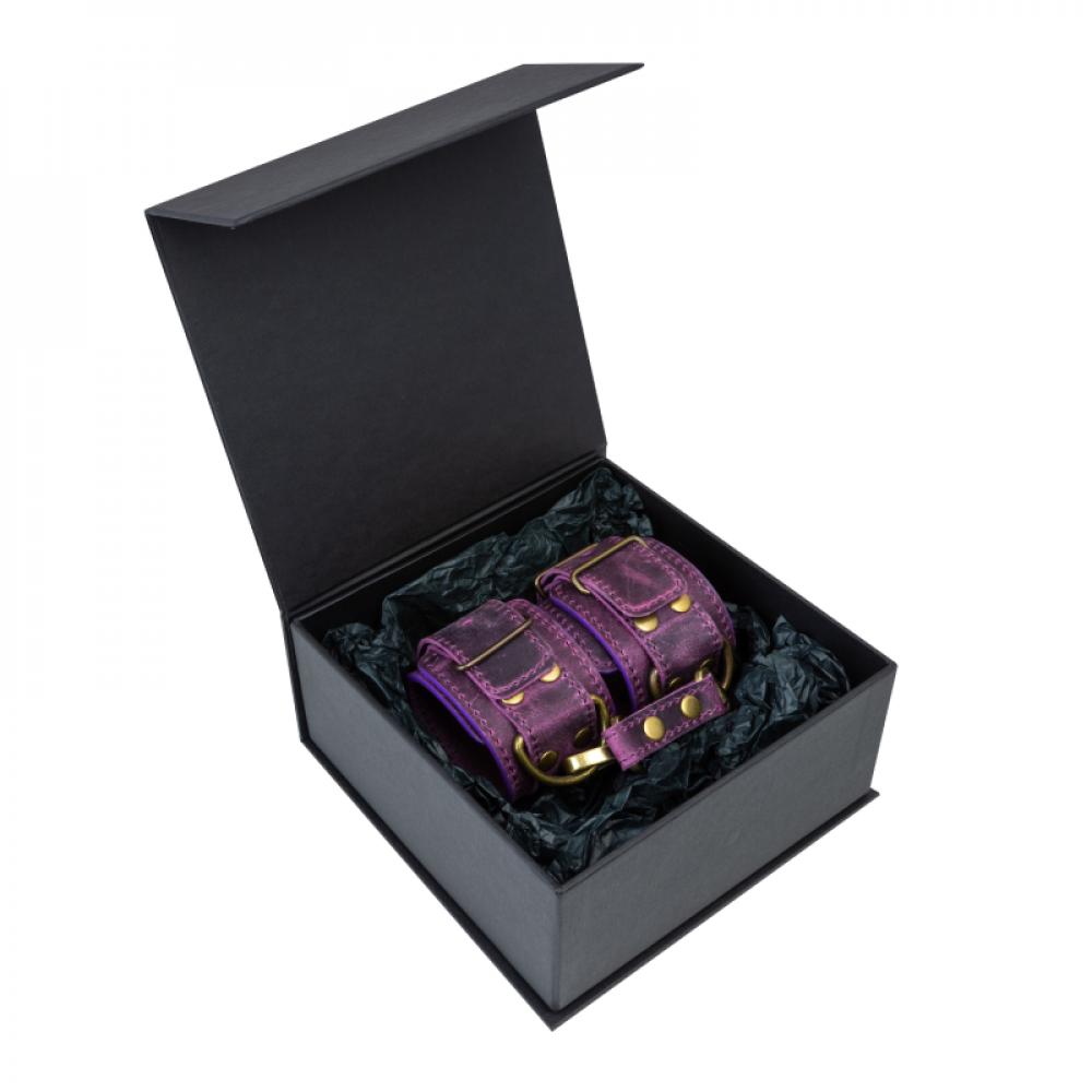 БДСМ наручники - Наручники LOVECRAFT фиолетовые 2