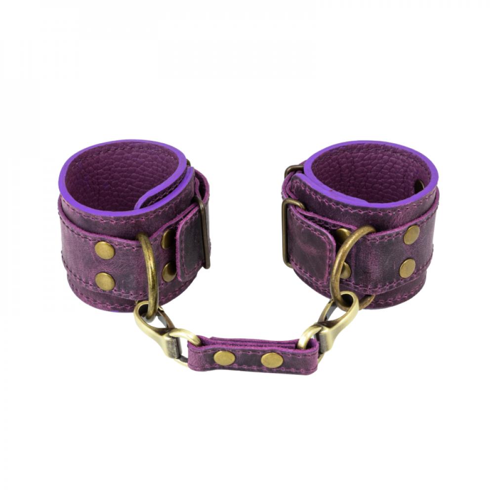 БДСМ наручники - Наручники LOVECRAFT фиолетовые