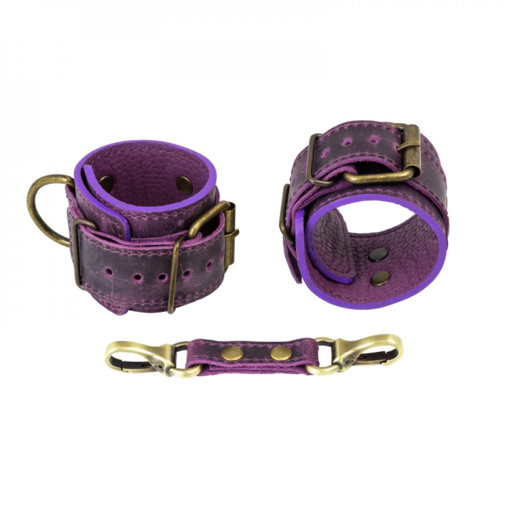 БДСМ наручники - Наручники LOVECRAFT фиолетовые 1