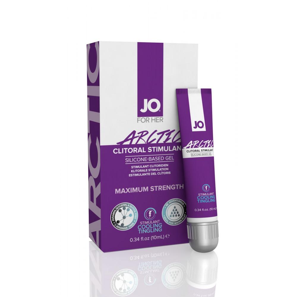 Жидкий вибратор - Стимулирующий гель для клитора System JO ARCTIC COOLING (10 мл) 1