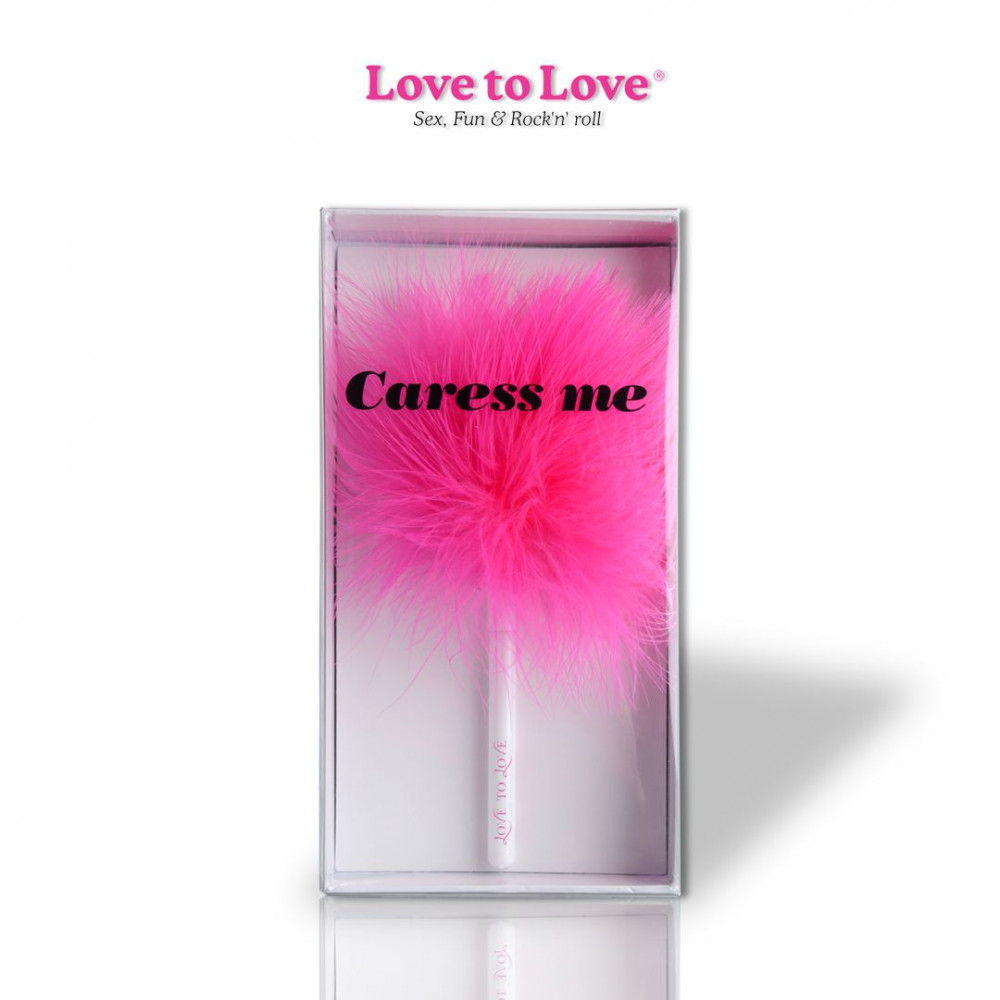 БДСМ плети, шлепалки, метелочки - Метелочка Love To Love Caress Me 1