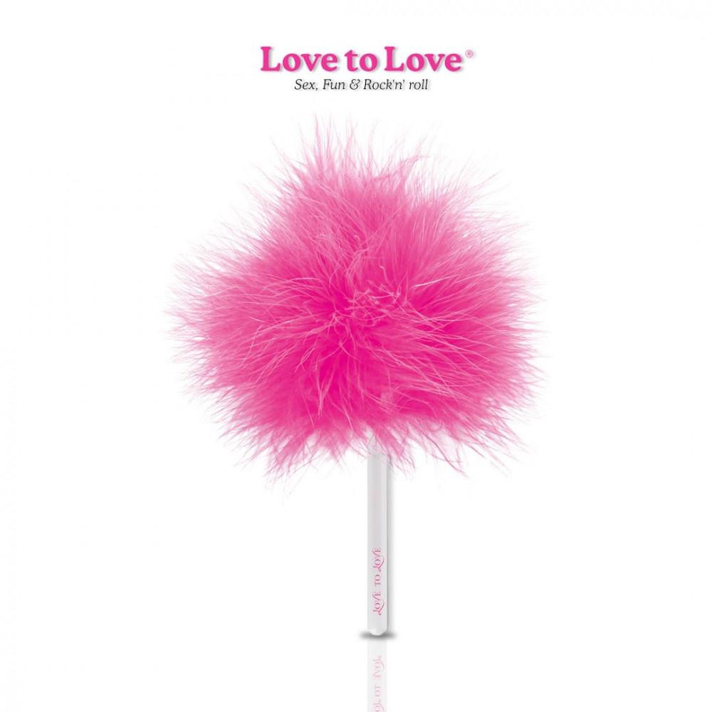 БДСМ плети, шлепалки, метелочки - Метелочка Love To Love Caress Me