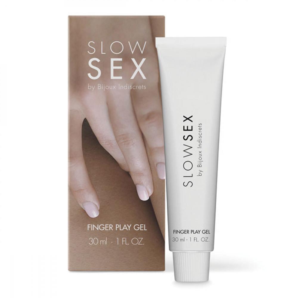 Жидкий вибратор - Гель для мастурбации  FINGER PLAY  Slow Sex by Bijoux Indiscrets (Испания)
